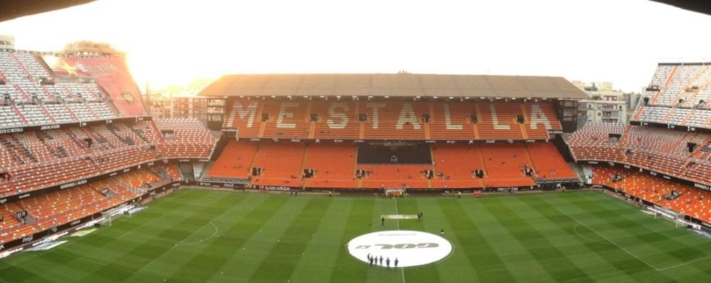 Valencia-Atalanta a porte chiuse La decisione è ormai definitiva