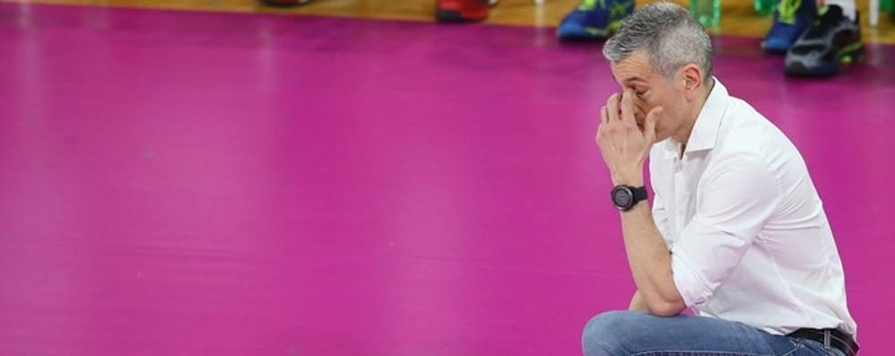 Caserta non sarà a Bergamo  Salta il match con la Zanetti
