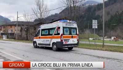Gromo, la Croce Blu in prima linea nell'emergenza