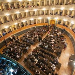 Il «grazie» del pubblico del teatro Donizetti «Non chiedo il rimborso, il mio atto di vicinanza»