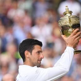 L'asso Djokovic campione anche di bontà Ingente donazione all'Asst Bergamo Ovest