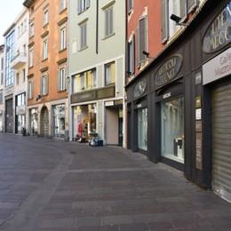 Lo stop del commercio: persi 32,5 milioni Oltre 1.400 le attività chiuse a Bergamo