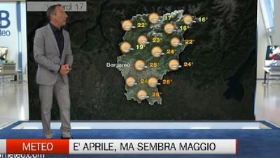 Meteo, le previsioni per venerdì 17 aprile