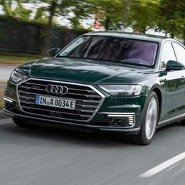 Nuova Audi A8 Ammiraglia ibrida