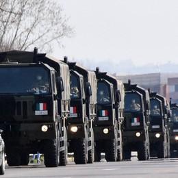 Altre 100 salme in partenza per Padova Prima della cremazione riceveranno la benedizione