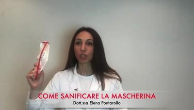 Come sanificare la propria mascherina