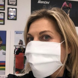 Le mascherine di #Bergamomolamia A breve centomila pezzi al giorno - Video