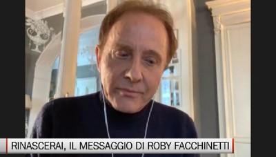 Rinascerai, il messaggio di Roby Facchinetti