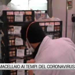 Albino, vita da macellaio ai tempi del coronavirus