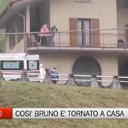 Gorno, che festa per il ritorno di Bruno Borlini