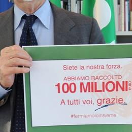 Per l'emergenza 100 milioni in donazioni Fontana: grazie, tutto sarà rendicontato