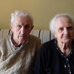 Un amore lungo settant'anni Nozze di ferro per Mina e Antonio