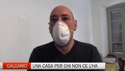 Emergenza Coronavirus: al Galgario una casa per chi non ce l'ha