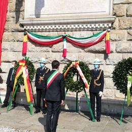 Il 25 Aprile al tempo di coronavirus Le commemorazioni a Bergamo -Foto