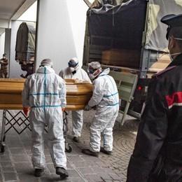 Mortalità a Bergamo, un triste record Più alta di New York: +464% - Infografiche