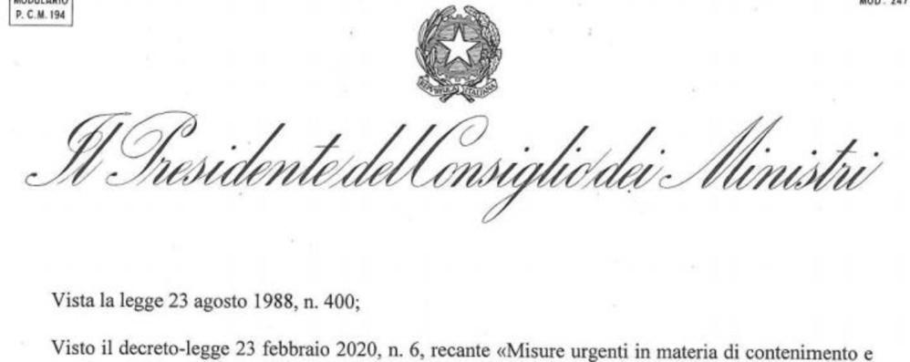 Riaperture, divieti e nuovi codici Ateco Il testo  del decreto in vigore dal 4 maggio