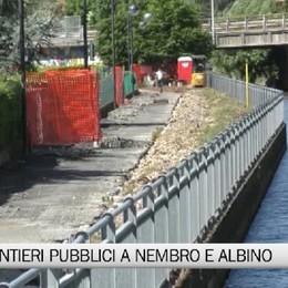 Nembro e Albino, ripartono i cantieri pubblici