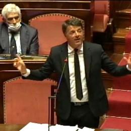 Renzi in Senato parla di Bergamo È polemica. Gori: uscita infelice