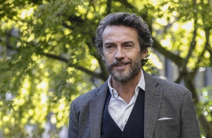 L'attore bergamasco Alessio Boni