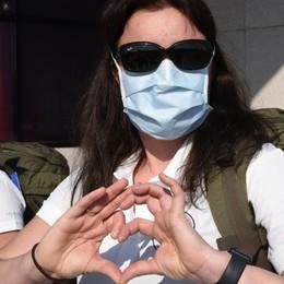 15 infermieri e 4 medici arrivati a Orio  Da Oslo in aiuto all'ospedale di Seriate
