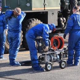 150 militari italo-russi in azione - Foto Sono già 33 le case di riposo sanificate