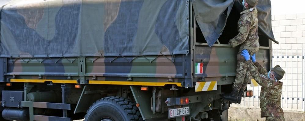 A Firenze altre 60 salme da Bergamo Trasferite con i mezzi dell'Esercito