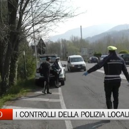 Alzano, i controlli della Polizia Locale