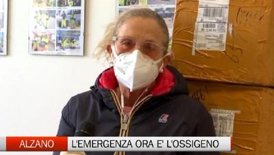 Alzano pensa alla fase due mentre affronta l'emergenza ossigeno