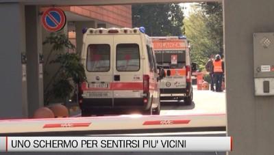 Bergamo - Uno schermo per sentirsi più uniti