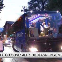 Clusone e Atalanta, il sindaco Olini: Ancora insieme