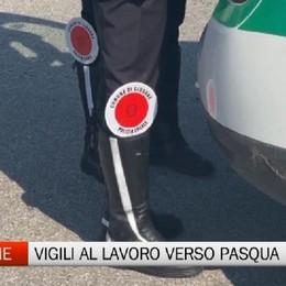 Clusone, i controlli della Polizia Locale verso Pasqua