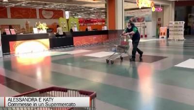 Commesse al supermercato, c'è chi viene ogni giorno per avere uno scontrino:Anche noi abbiamo paura