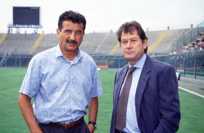 Ivan Ruggeri con Emiliano Mondonico nella stagione 1994/95