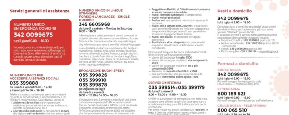 Spesa e farmaci a Bergamo Ora attiva anche una app per le richieste