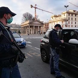Troppa gente in strada, giro di vite In 24 ore ben 3.172 controllati
