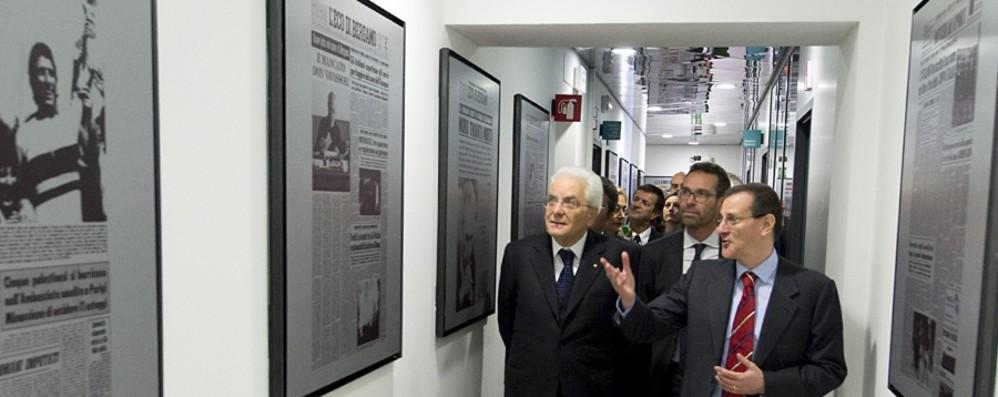 Buon compleanno L'Eco di Bergamo 140 anni di storia, la lettera di Mattarella