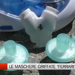 Distretto di Honio, le maschere griffate Ferrari