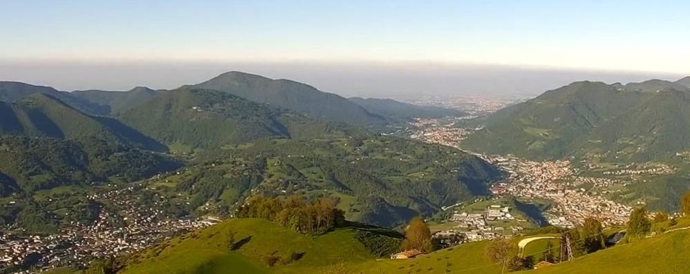 Gandino, nuova webcam sul monte Farno Le immagini panoramiche in tempo reale