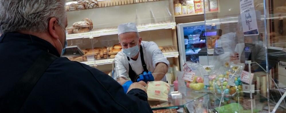 Lockdown, i consumi a picco A Bergamo meno 85 per cento