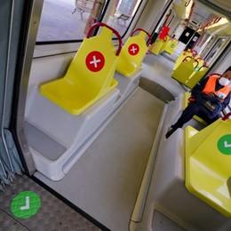 Pullman e tram, afflusso regolare Fase 2, ecco come si è viaggiato