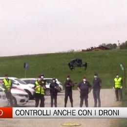 Albano Sant'Alessandro, controlli anche con i droni