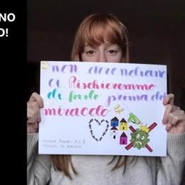 Dopo il video di Clusone, Brescia ringrazia Un nuovo filmato sulle note della Mannoia