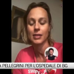 Federica Pellegrini, asta benefica per l'ospedale di Bergamo