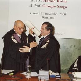 Lutto per l'Università di Bergamo È morto  il professor Giorgio Szegö
