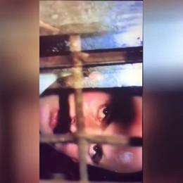 Una scena del film L'albero degli zoccoli