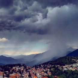 Bergamo, arrivano i temporali Al Sud caldo africano, picchi di 35°C