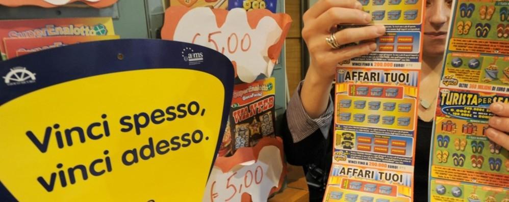 Bergamo, torna il «Gratta e vinci» Dopo lo stop, nuova ordinanza di Gori