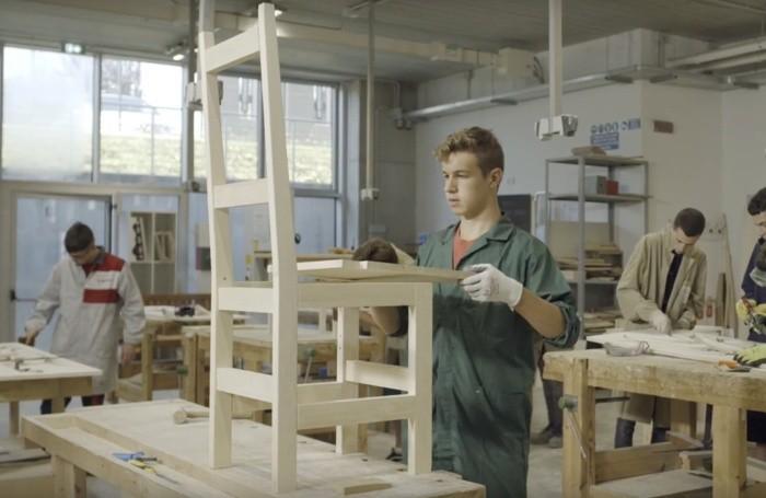 La scuola del legno di Tino Sana