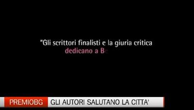 Letteratura - Il saluto alla città dei finalisti del Premio Bergamo
