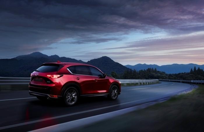 La Mazda-Cx 5